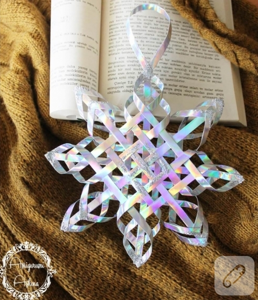 How to make a pretty paper snowflake - craftlove co