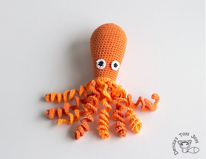 móhu — amigurumi octopus pattern This simple amigurumi... | 541x701